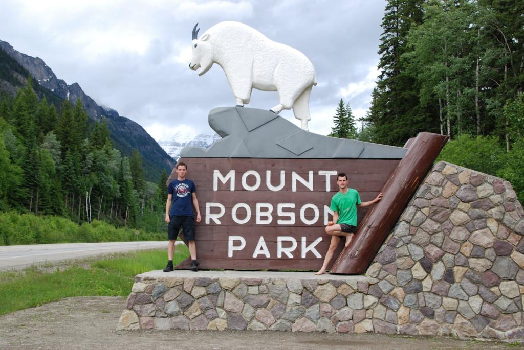 V podvečer jsme dojeli pod Mt.Robson