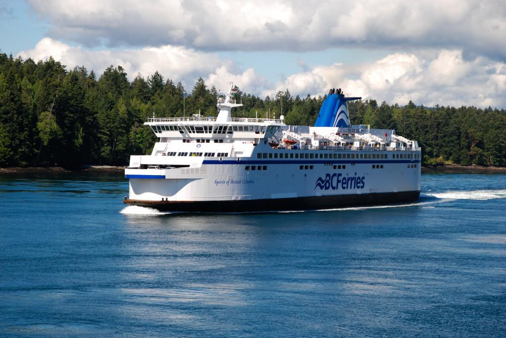 Trajekty na trase Victoria-Vancouver projíždí nádhernou přírodou